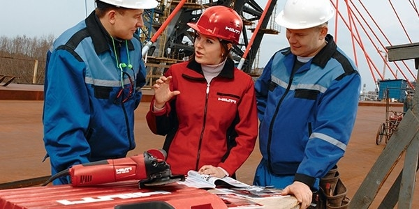 Working at Hilti