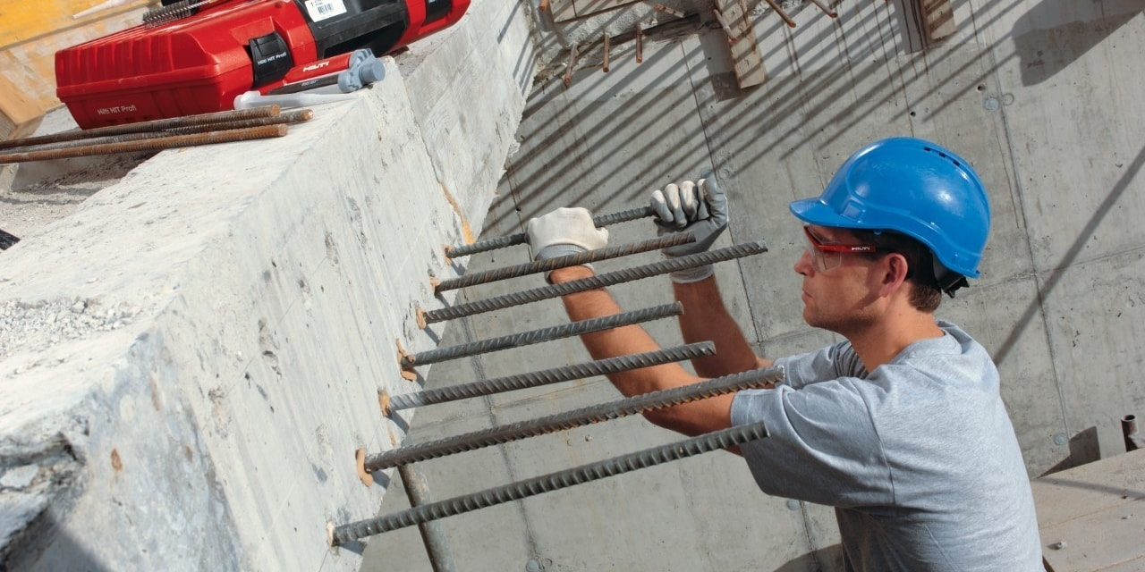 Post-Installed Reinforcing Bar Guide
