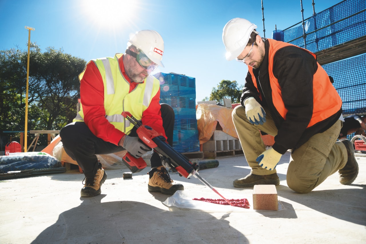 reconditioned tools are backed by Hilti's 20-2-1 tool warranty