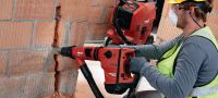 TE 60-ATC-AVR Rotary hammer Versatile and powerful SDS Max (TE-Y) rotary hammer for concrete drilling and chiseling, with Active Vibration Reduction (AVR) and Active Torque Control (ATC) Applications 3