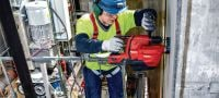 TE 6-A22 (04) Powerful D-grip 22V cordless rotary hammer with superior concrete drilling and chipping performance Applications 4