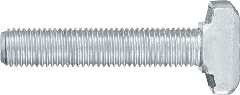 HBC-T Serrated T-bolts Serrated T-bolts for tension, perpendicular and parallel shear loads (3D loads)