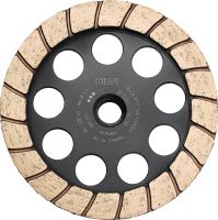 SP Turbo diamond cup wheel Premium diamond cup wheel for angle grinders – for finishing grinding concrete and natural stone