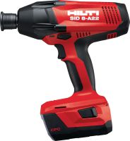 SID 8-A22 Impact driver Ultimate-class 22V cordless impact driver with 7/16 hexagonal chuck for heavy-duty work