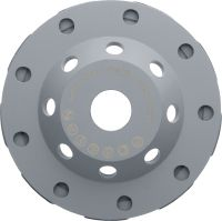 P universal Standard diamond cup wheel for angle grinders – for faster grinding of concrete, screed and natural stone