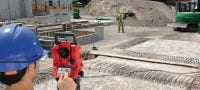 POS 18 Precise construction total station for two-person operation with 3  angle measurement accuracy Applications 3