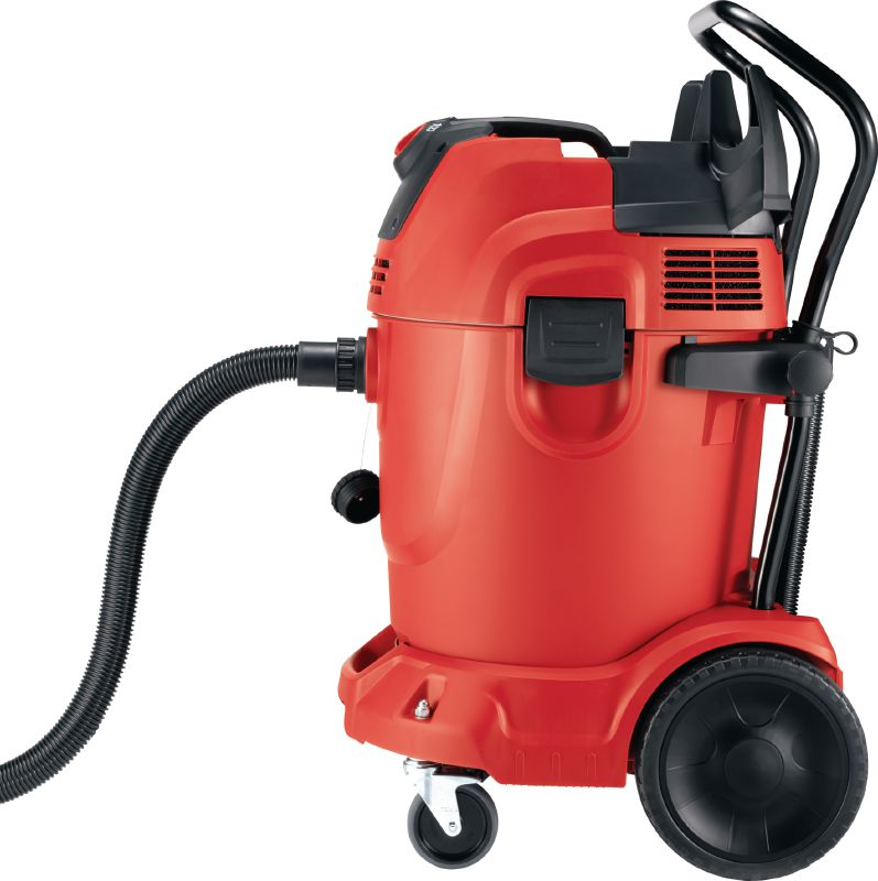 VC 300-17 X High-suction construction vacuum Universal, powerful wet and dry vacuum cleaner with 300 CFM suction to comply with OSHA dust standards