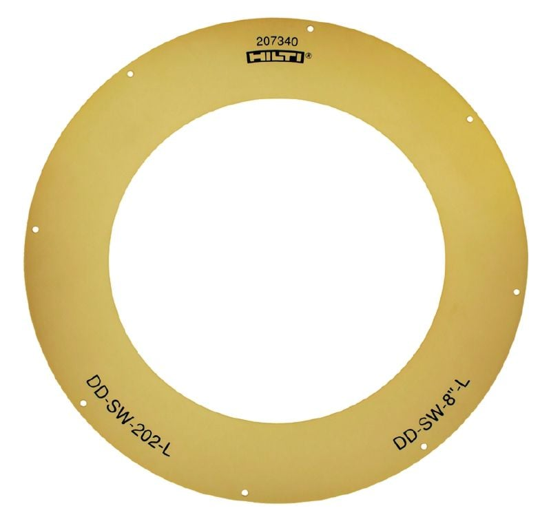 DD-SW-L Sealing washer Sealing for the DD-WC-ML water dam for core bit diameters from 24 mm (15/16) to 250 mm (9 13/16)