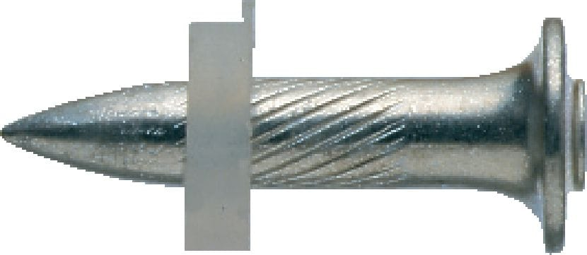 X-EDS Single nail for fastening metal elements to steel structures with powder-actuated nailers