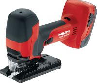 SJT 6-A22 Cordless jig saw Powerful 22V cordless jig saw with barrel T-grip for curved cuts above or below the work surface