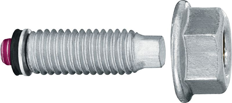 Threaded Stud S-BT MF Threaded screw-in stud (carbon steel, Metric or Whitworth thread) for multi-purpose fastenings on steel in mildly corrosive environments