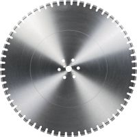Equidist Wall Saw Blade SPX-HXU Ultimate wall saw blade (20kw) for high speed and a long lifetime in reinforced concrete