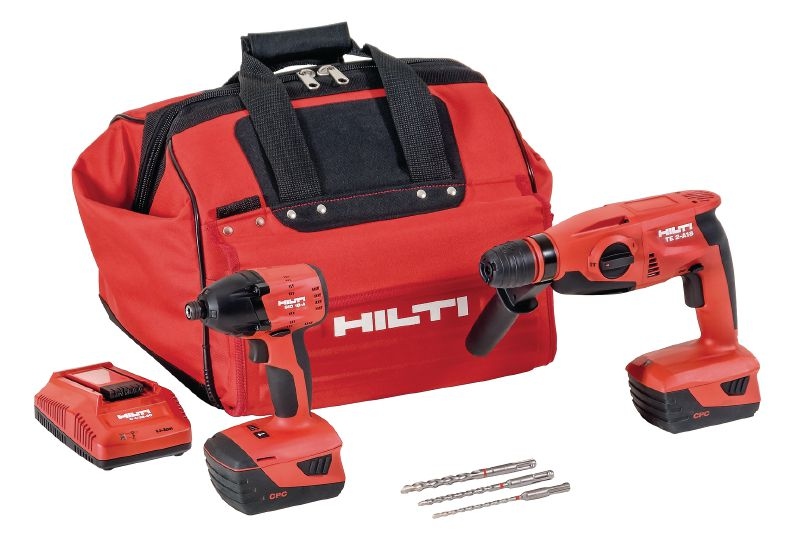 Two-tool cordless combos Two tools cordless combos