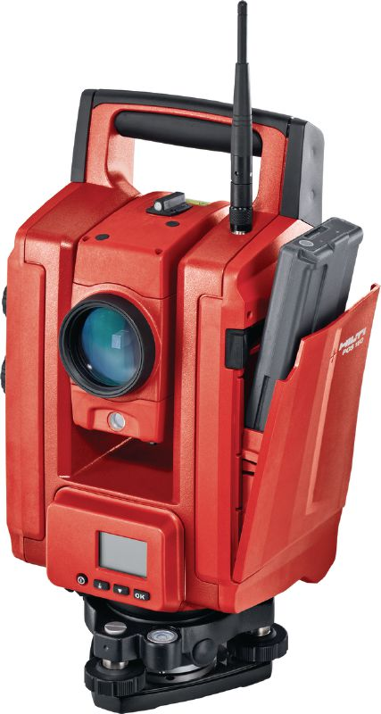 POS 180 Total station Long-range robotic total station for one-person operation with 3 angle measurement accuracy