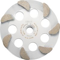 SPX Fine finish diamond cup wheel Ultimate diamond cup wheel for the DG 150 diamond grinder – for finishing grinding concrete and natural stone