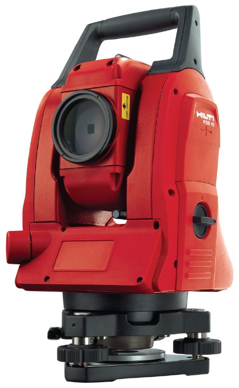 POS 18 Precise construction total station for two-person operation with 3  angle measurement accuracy