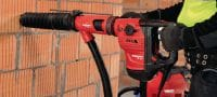 TE DRS-Y Dust removal system for concrete drilling and chiseling with Hilti SDS Max (TE-Y) rotary hammers Applications 5
