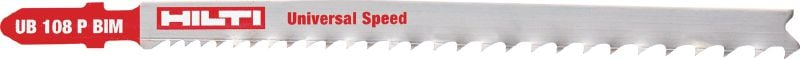 Multipurpose jig saw blade Premium multipurpose jig saw blade for long life in cutting metal, wood and other materials