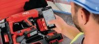 BX 3 02 22V cordless nailer for interior finishing applications Applications 1