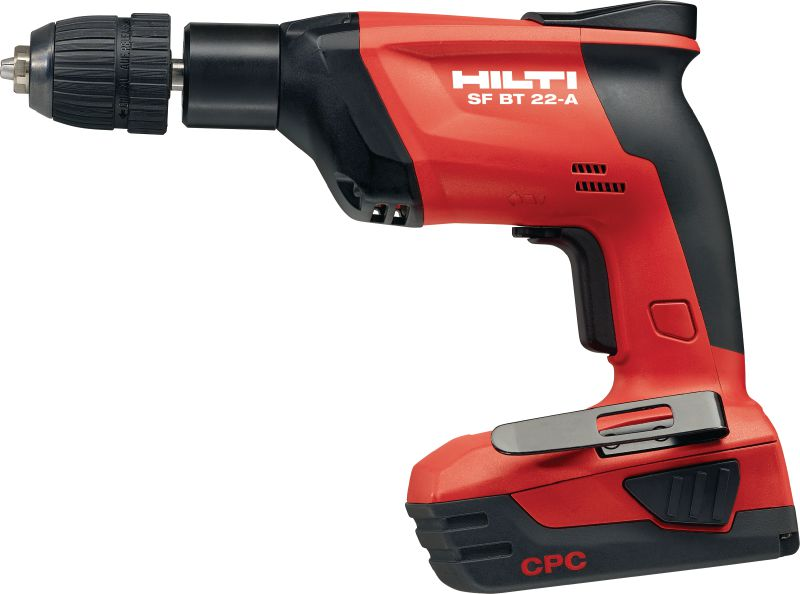SF BT Cordless drill Cordless drill for predrilling accurate holes for X-BT fasteners