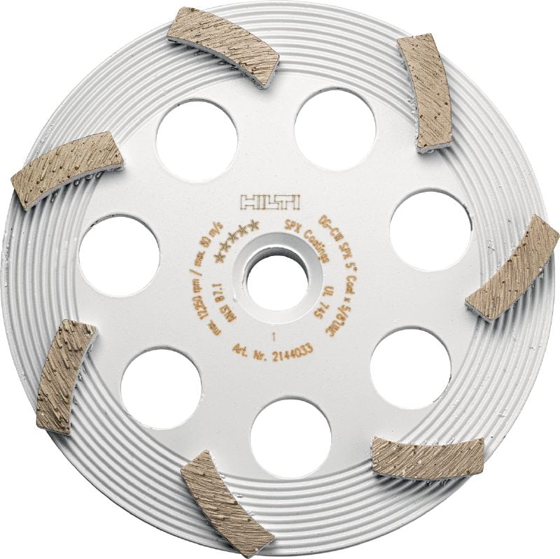 SPX coating removal Ultimate diamond cup wheel for angle grinders – for removing thin coatings such as paint and adhesive