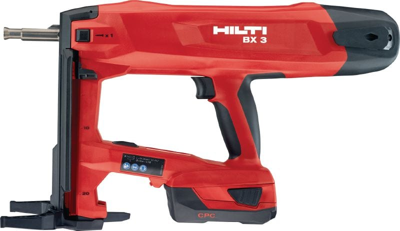 BX 3-IF 22V cordless nailer for interior finishing applications