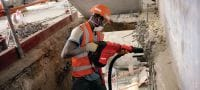 TE DRS-Y Dust removal system for concrete drilling and chiseling with Hilti SDS Max (TE-Y) rotary hammers Applications 2