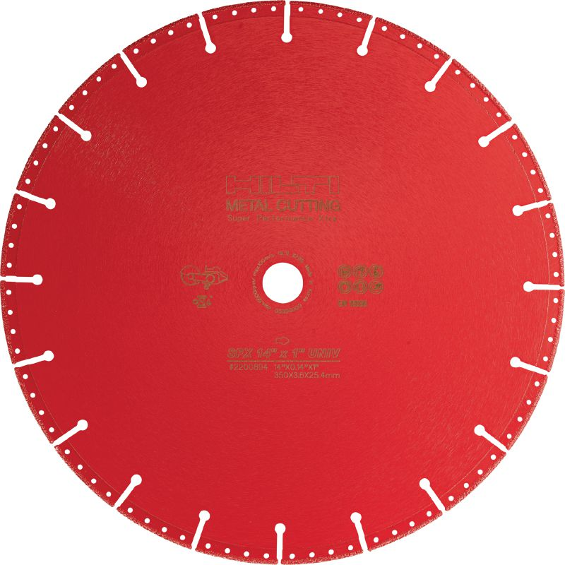 SPX Metal-cutting diamond blade Ultimate diamond blade for superior cutting performance in metal and other base materials