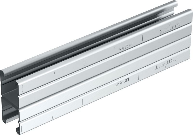HS Stainless steel back-to-back (B2B) strut channels for medium-duty applications 1-5/8 - 12 ga