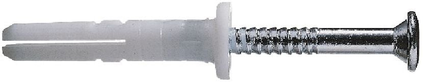 HPS-1 R Impact anchor (304 stainless steel nail) Economical impact plastic anchor with 304 stainless steel screw