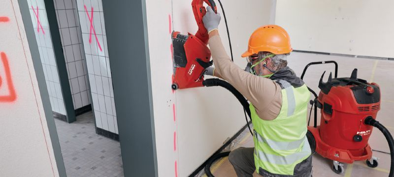 Power saw safety e-learning Online training course providing practical knowledge on the safety features and risks when using electric saws, explaining how to better avoid hazards