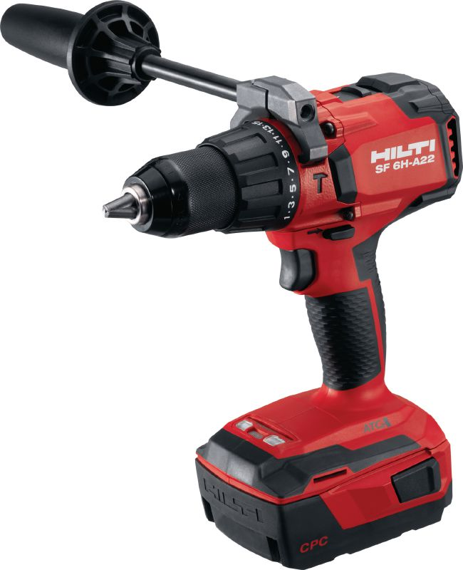 SF 6H-A22 (02) Cordless hammer drill driver Power class cordless 22V hammer drill driver with Active Torque Control and electronic clutch for universal use on wood, metal, masonry and other materials