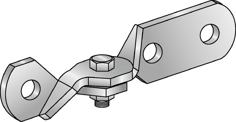 SH Seismic hinge connectors for bracing the strut channels against lateral loads