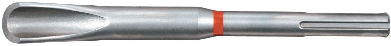 TE-Y HM SDS Max (TE-Y) hollow channel chisel for cutting and gouging channels in concrete