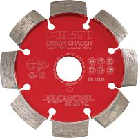 SPX Crack chaser blade Ultimate diamond crack chasing blade for superior repairing cracks in concrete