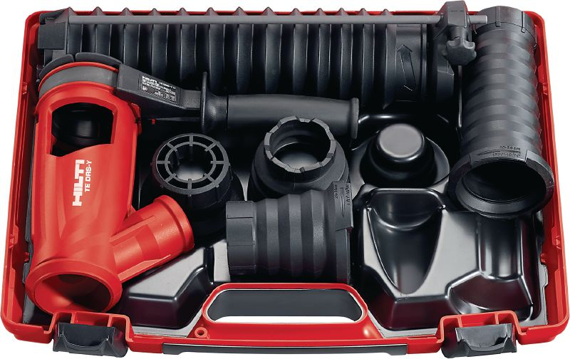 TE DRS-Y Dust removal system for concrete drilling and chiseling with Hilti SDS Max (TE-Y) rotary hammers