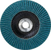 AF-D UP Flap disc Premium flap disc with metal hub for light grinding