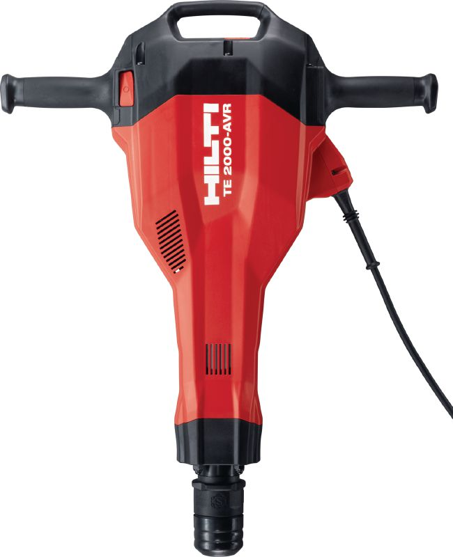 TE 2000-AVR Demolition hammer Powerful and extremely light TE-S demolition hammer for concrete and demolition work
