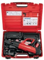 DX 5 Powder-actuated tool kit Digitally enabled, fully automatic, high-productivity and versatile powder actuated nailer – one kit for many applications