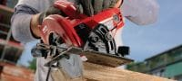 WSC 7.25-S Circular saw Circular saw for heavy-duty straight cuts up to 2-3/8 depth with a 7.25 blade Applications 2