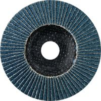 AF-D FT SPX Flap disc Ultimate fiber-backed flat flap discs for rough to fine grinding of stainless steel, steel and other metals