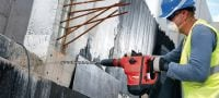 TE 60-ATC-AVR Rotary hammer Versatile and powerful SDS Max (TE-Y) rotary hammer for concrete drilling and chiseling, with Active Vibration Reduction (AVR) and Active Torque Control (ATC) Applications 1