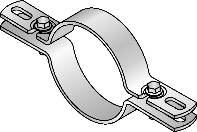 MH-SLR-LS Slotted speed lock riser clamp
