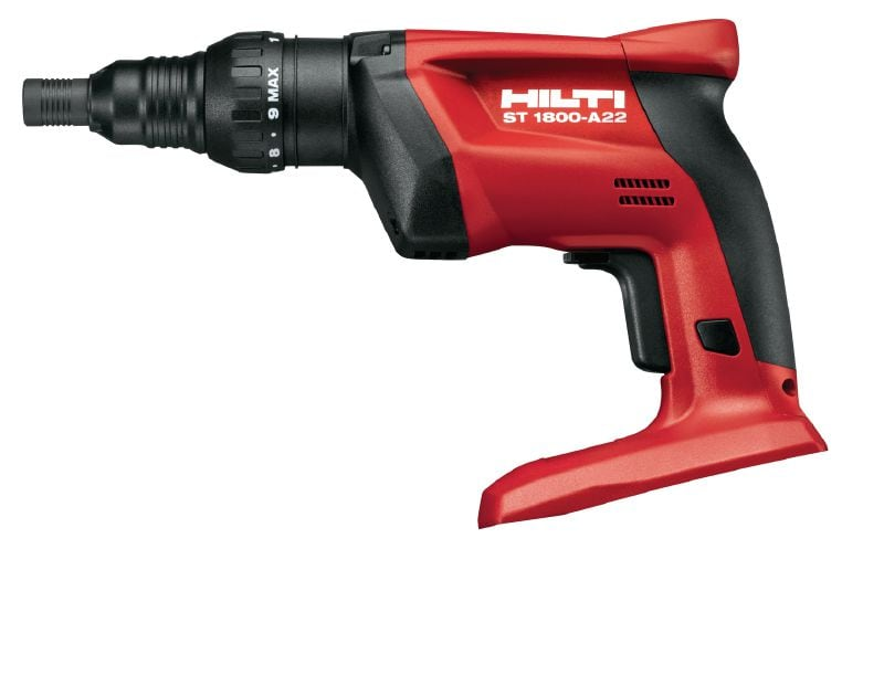 ST 1800-A22 Cordless screwdriver with adjustable torque for steel and metal applications