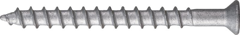Kwik-Con+ Torx flat head High-performance screw anchor for concrete and masonry (carbon steel, Torx flat head)