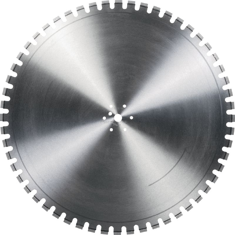 Equidist Wall Saw Blade SPX-MCU Ultimate wall saw blade (20kw) for high speed and a long lifetime in reinforced concrete