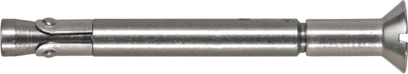 Kwik Bolt 3 SS 304 (countersunk) High-performance wedge anchor with everyday approvals for uncracked concrete (304 stainless steel, countersunk)
