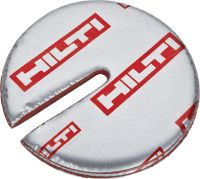 CFS-D 1'' Firestop putty disc Self-adhesive discs of firestop putty for single cables, conduits and bundles in openings up to 1