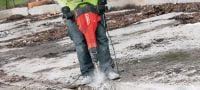TE-SPX FM Ultimate TE-S narrow-flat chisel (polygon) for controlled concrete demolition Applications 1