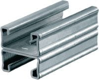 MQ-21 D-R Stainless steel (A4) MQ installation double channel for medium-duty applications